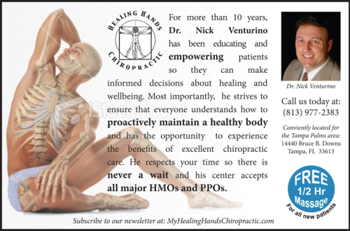 Mockup concept for Dr. Nick Venturino Ad