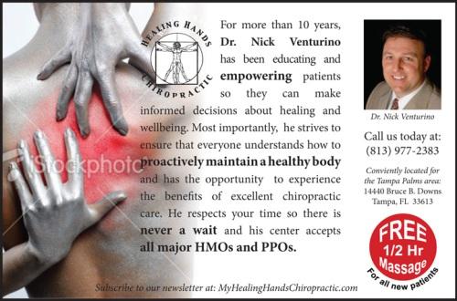 Dr. Nick Venturino Mock up Ad